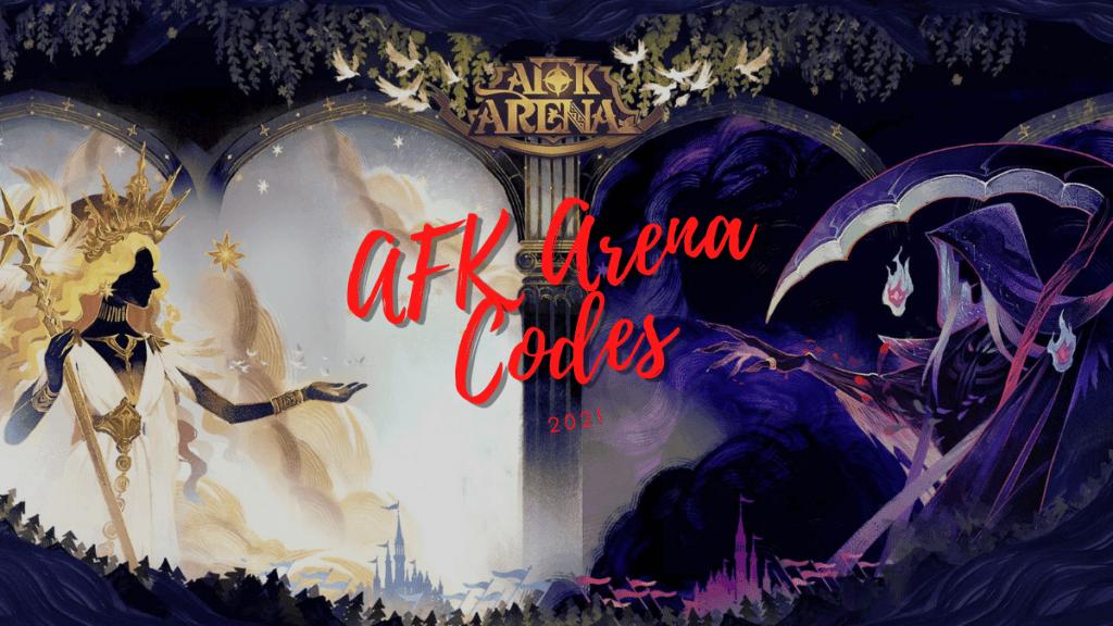 AFK Arena Redemption Codes 2021