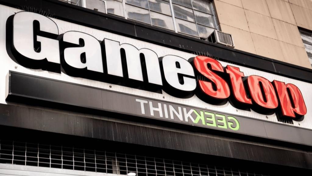 gamestop shares soar high the big short