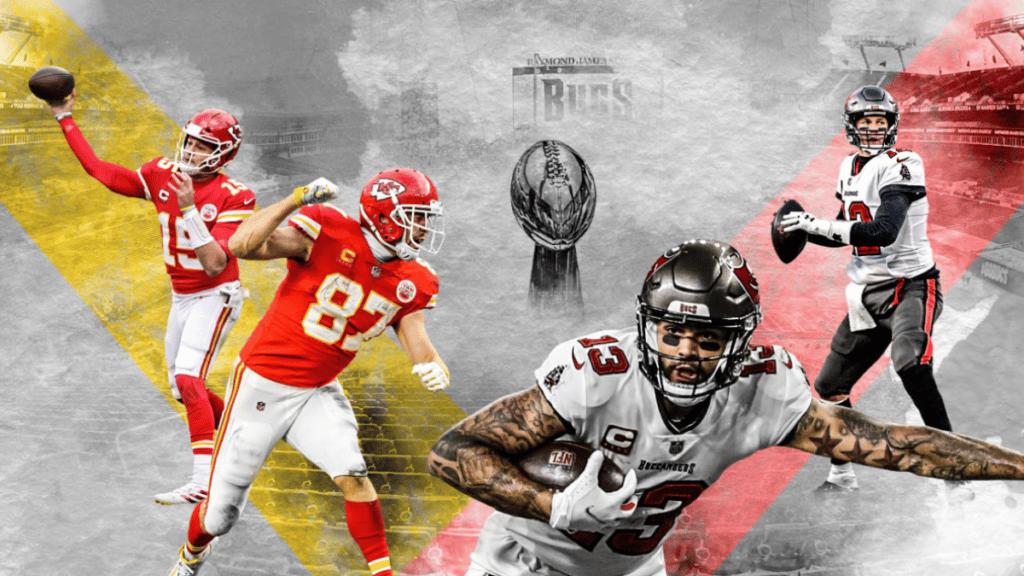Super Bowl LV Tampa Bay Buccaneers - Kansas City Chiefs