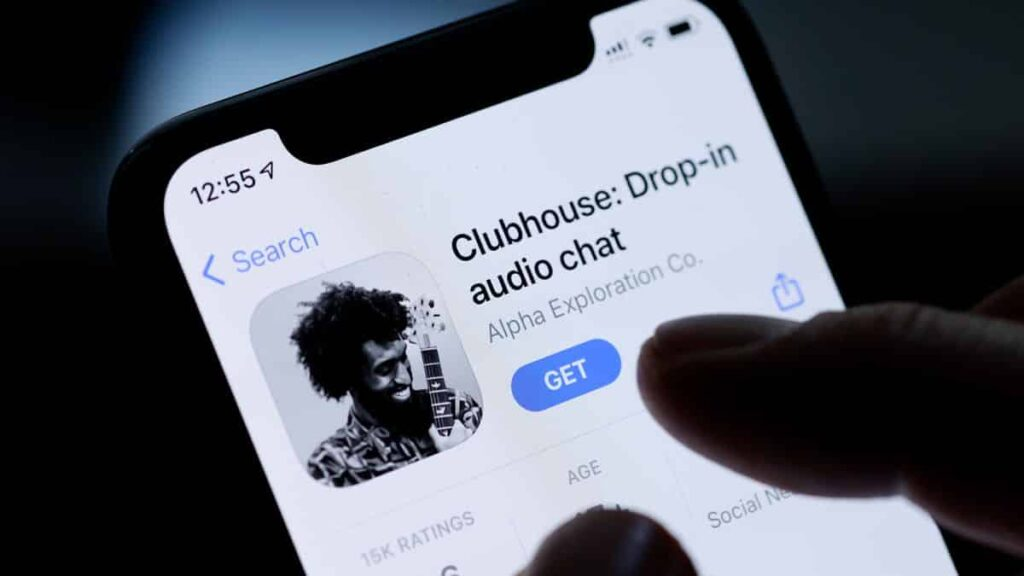 Clubhouse drop-in audio chat app store
