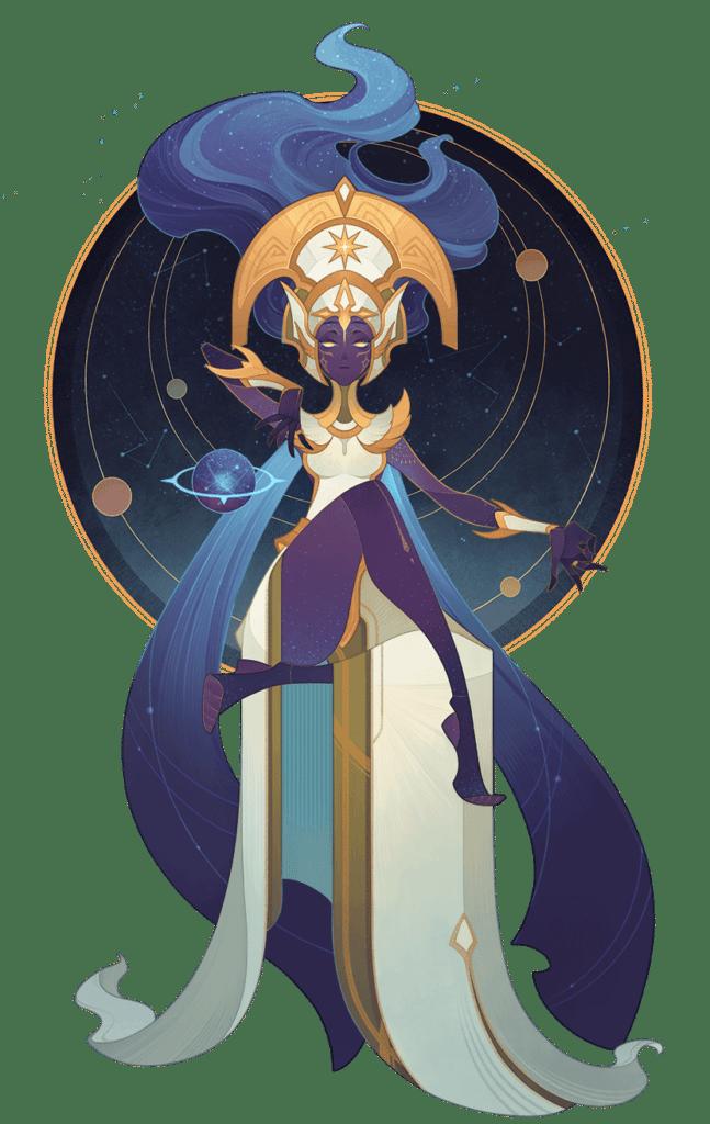 Morael Queen of Stars png nobg