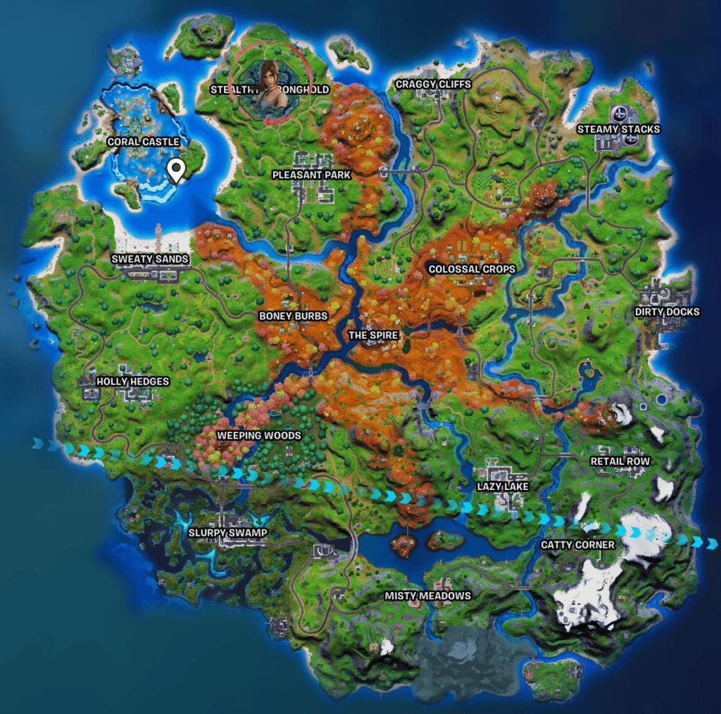Fortnite lara croft Stealthy Stronghold