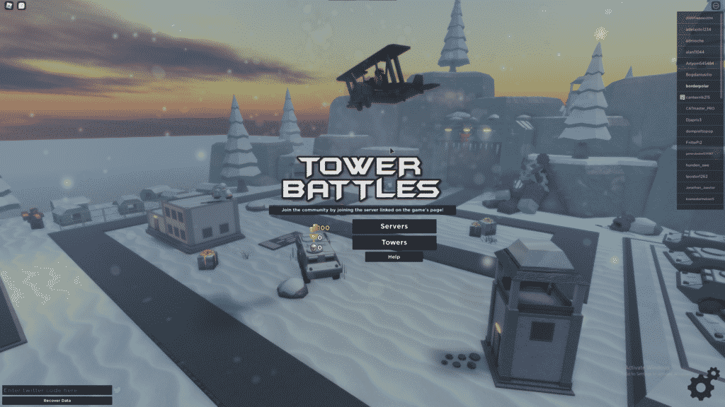 how to redeem codes in tower battles roblox