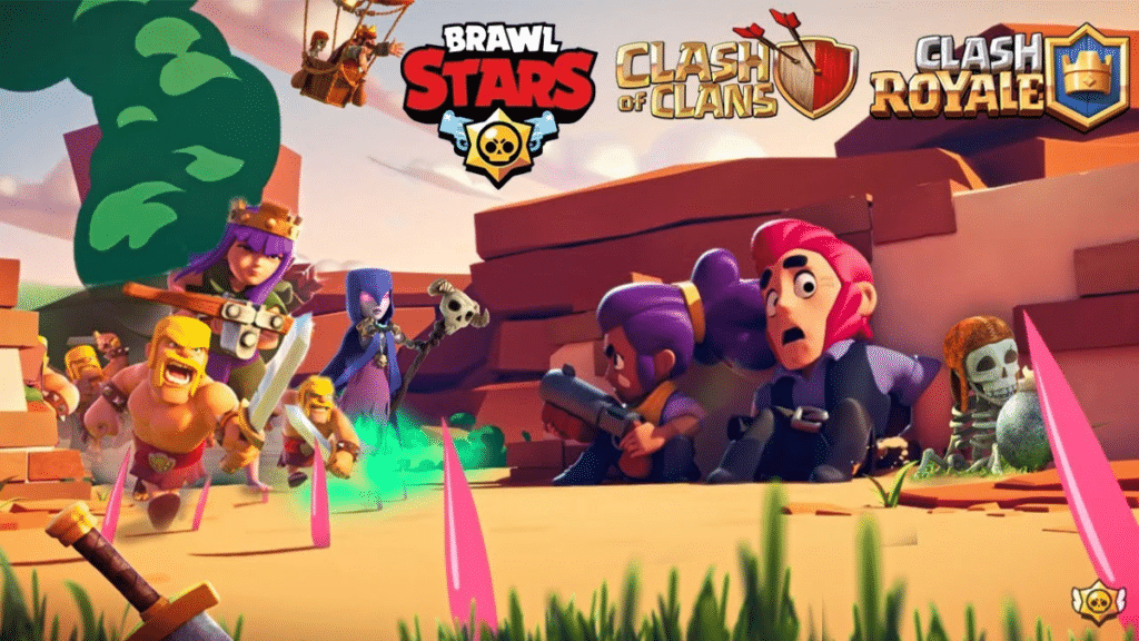 Clash of Clans, Clash Royale, Brawl Stars Creator codes