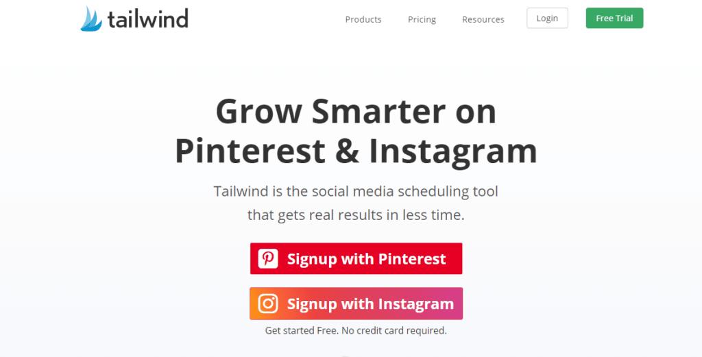tailwind app instagram pinterest