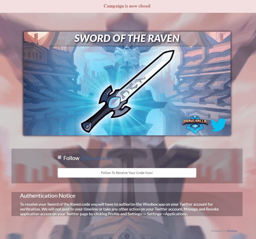 sword of raven skin