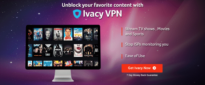 Ivacy VPN affiliate banner