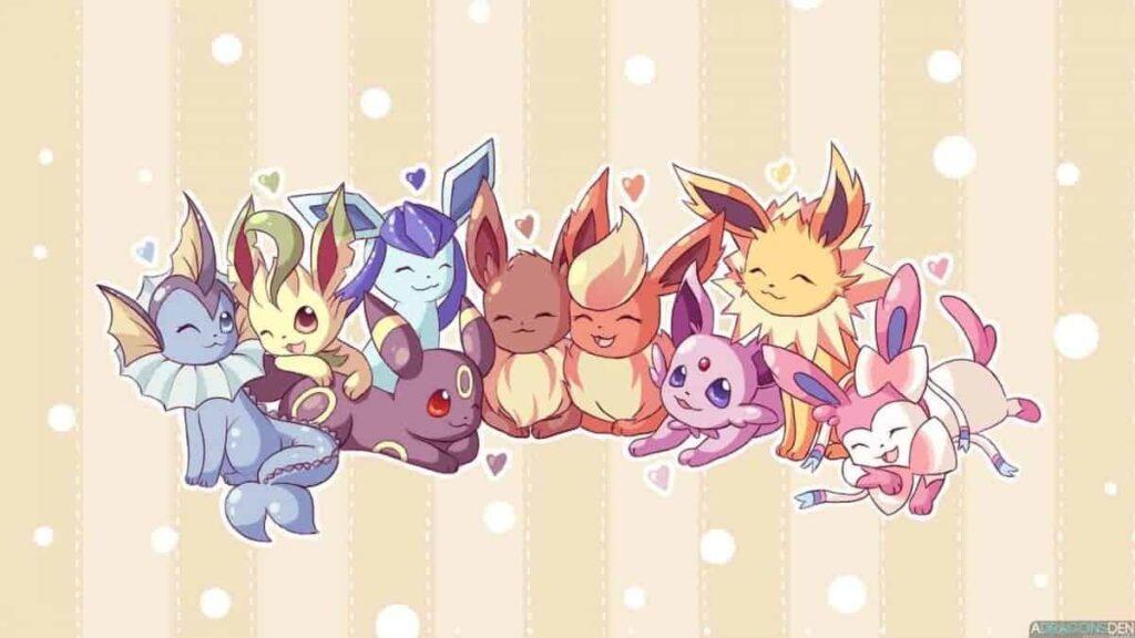 Eevee Evolutions Pokemon Go