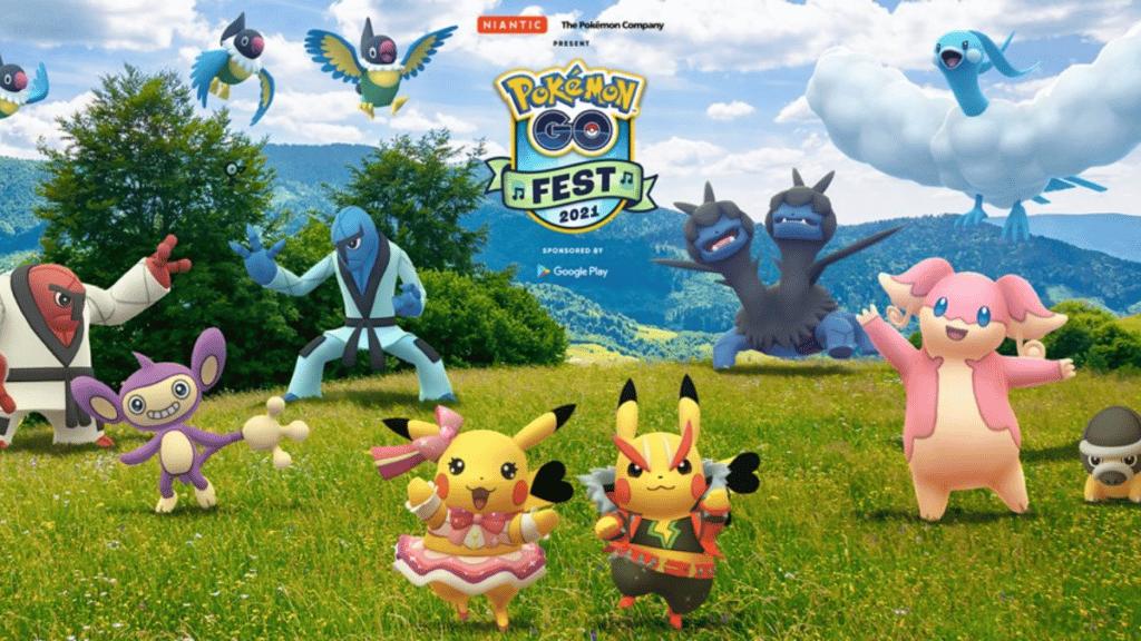 Pokemon Go Events and Raids