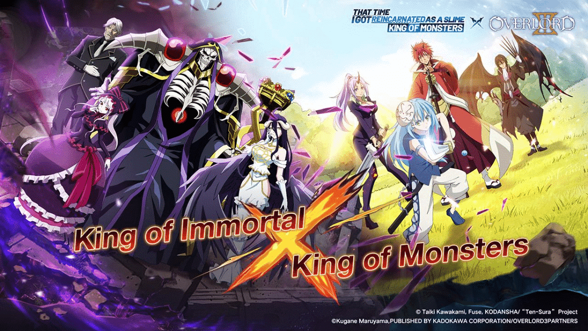 Tensura King of Monsters Codes Overlord Crossover
