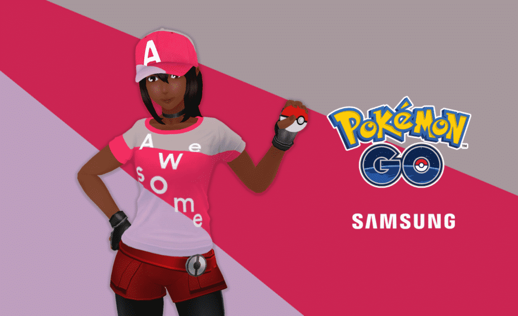 Pokemon GO x Samsung Galaxy A seris 2021 promo code