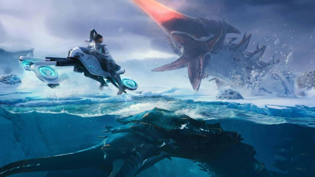 Leviathan spawn locations map subnautica below zero
