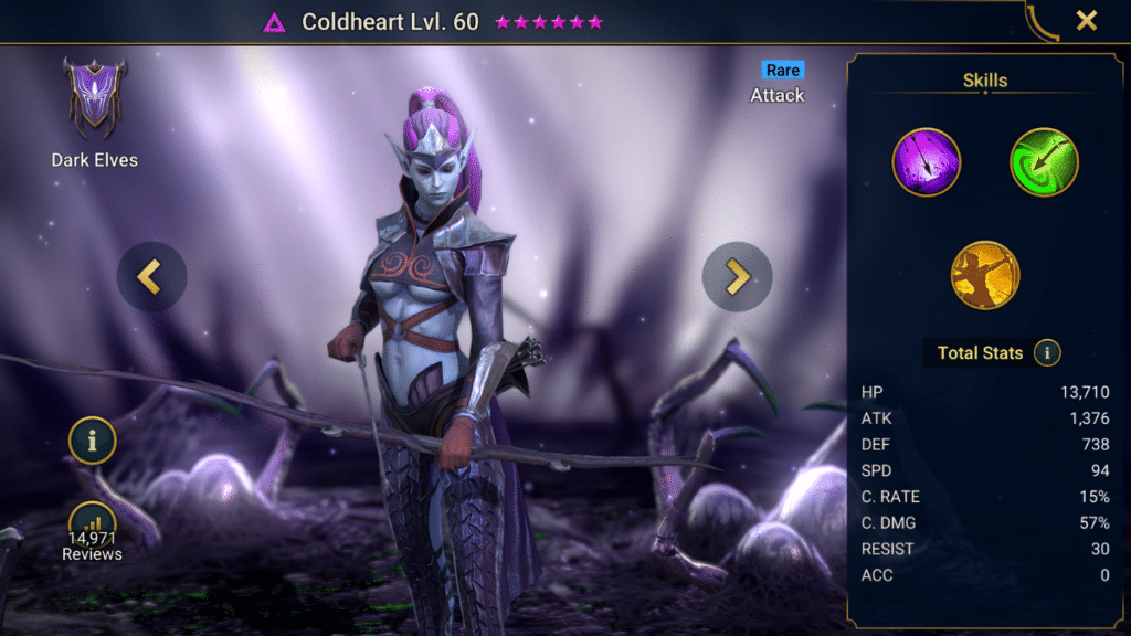 Coldheart - RAID Shadow Legends Champion