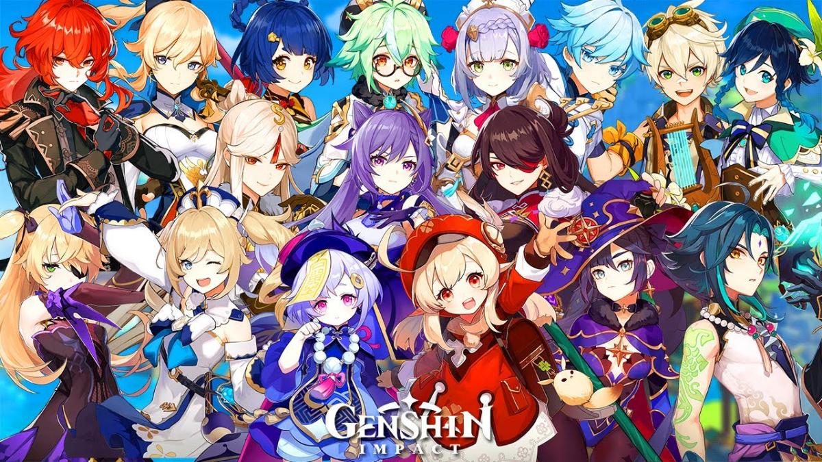 Genshin Impact characters - All playable characters