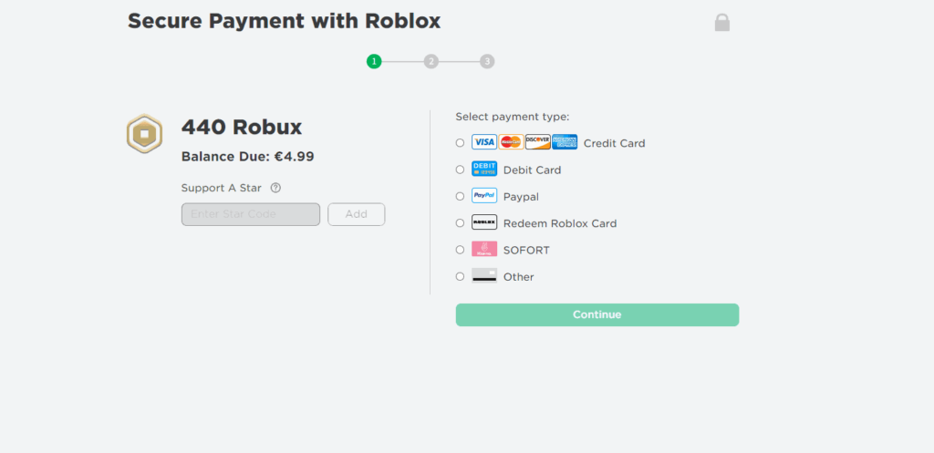 how to redeem roblox star codes