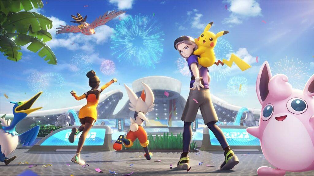 Pokemon Unite lands on mobile tomorrow
