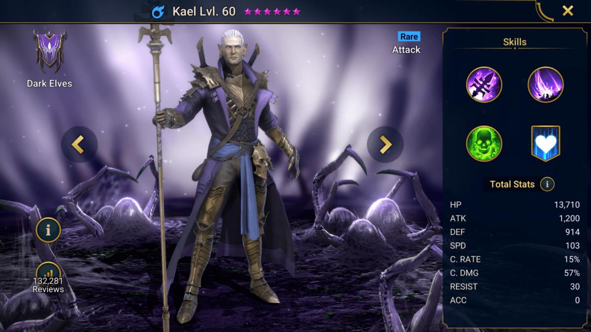 Kael RAID Shadow Legends